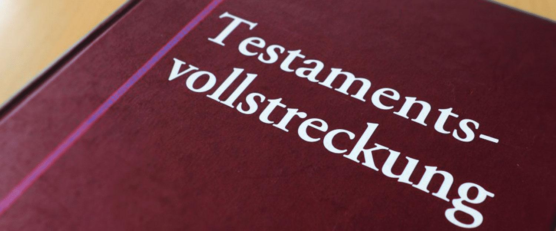 Buch Testamentsvollstreckung